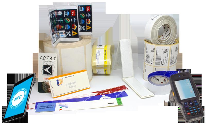 Etichette RFID e NFC composizione